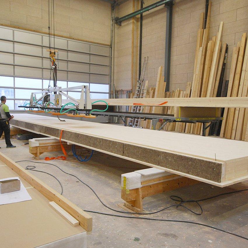 HUSNER Produktion Holzelementbau für aaReha Schinznach-Bad