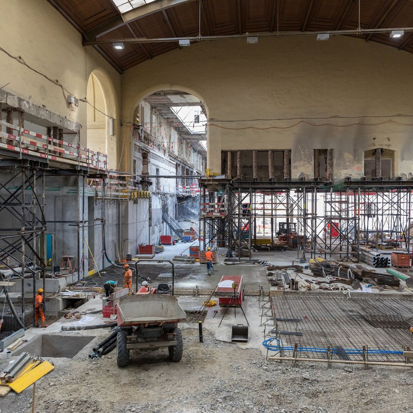 Umbau Basel Westflügel SBB Rückbau