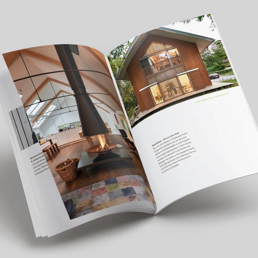 HUSNER Broschüre Holzbau