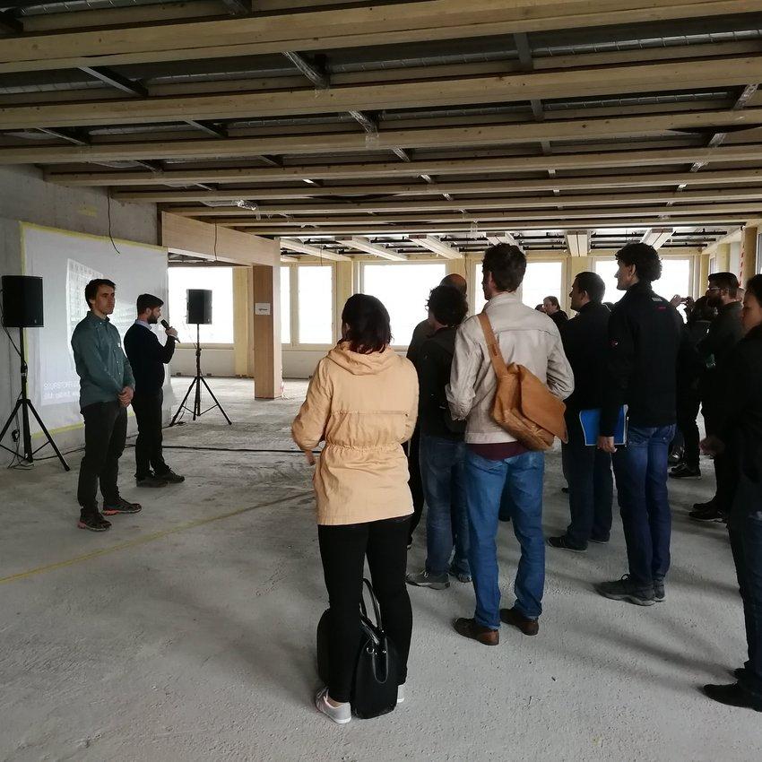 Suurstoffi22 - Baustellenbesichtigung in Risch-Rotkreuz