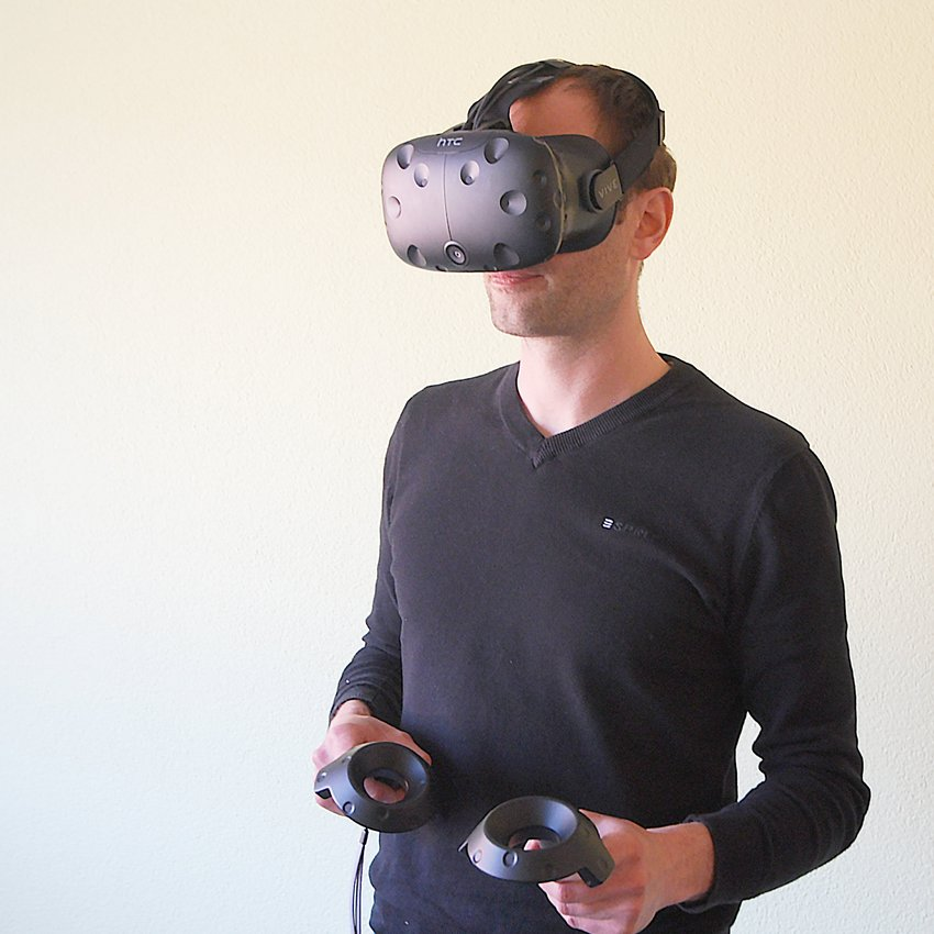 3D-Brille Virtual Reality bei HUSNER