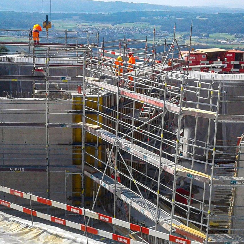 Leitungsbau Tiefbau Römerweg Ehrendingen