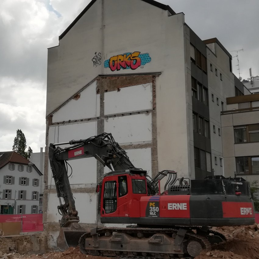 Vom Innenhof richtung Steinengraben