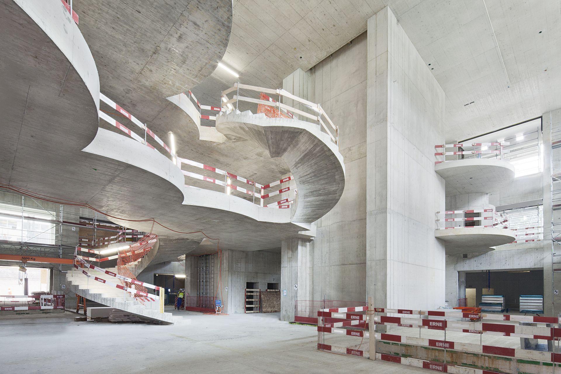 Treppe Basel Biozentrum