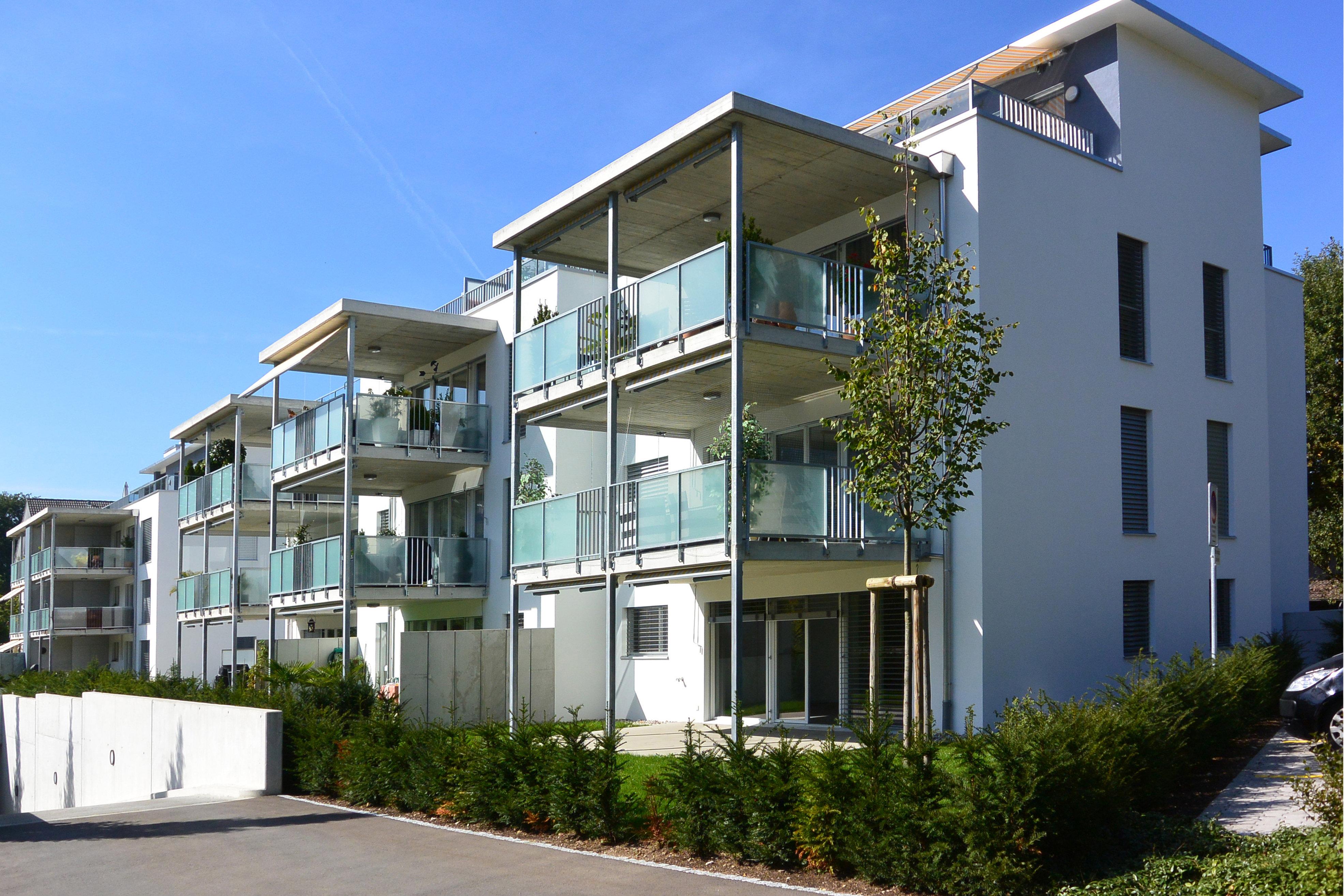 Mehrfamilienhaus Wohnungen